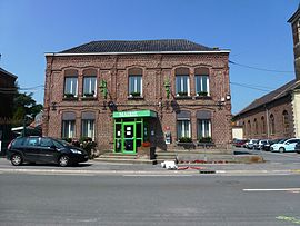 Faumont (Nord, Fr) mairie.JPG