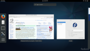 Fedora Showing Gnome 3.22.2 showing overview.png