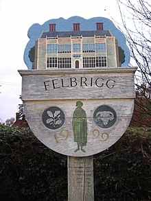 Felbrigg Village Sign 25th Oct 2007 (2).JPG