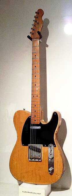 Fender Broadcaster (1950), Museum of Making Music.jpg
