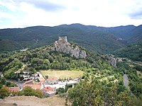 Fenouillet et le Castel Sabarda.JPG
