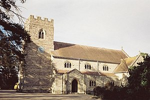 Ferndown - Image: Ferndown, parish church of St. Mary geograph.org.uk 505282