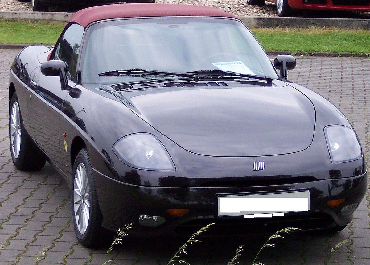 Px Fiat Barchetta Black Vr