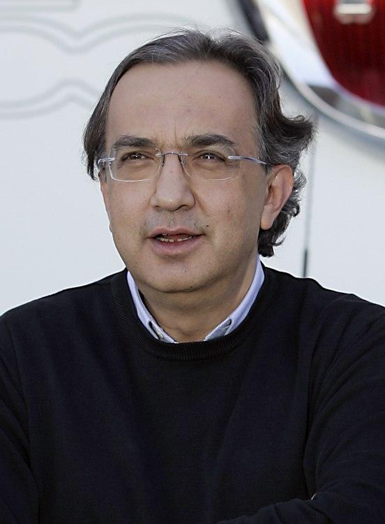 Fiat Sergio Marchionne (cropped)