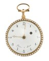 Fickur med boett av guld och urtavla i emalj, 1790 - Hallwylska museet - 110450.tif