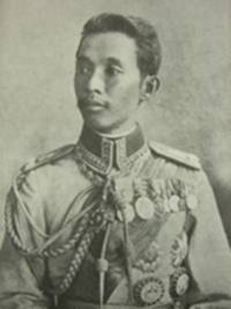 1st Division (Thailand) - Prince Chirapravati Voradej, the Prince of Nakhon Chaisi was instrumental in reorganizing the army in 1905, he later served as Minister of Defence from 1910-1913.