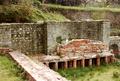 Fiesole - Archäologische Zone - Thermen - Caldarium 4, 1984.png