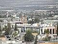 Finanzas del Estado, Parroquia de Trinidad, Desde el mirador del callejón de Miraflores, Saltillo Coahuila - panoramio.jpg
