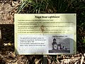 Fingal Head Lighthouse information sign, Fingal Head, New South Wales.jpg