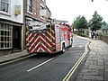 Fire engine in The Wharfdale - geograph.org.uk - 1463196.jpg