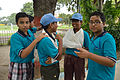 First Aid and Emergency Management Session - Summer Camp - Nisana Foundation - Sibpur BE College Model High School - Howrah 2013-06-08 9184.JPG