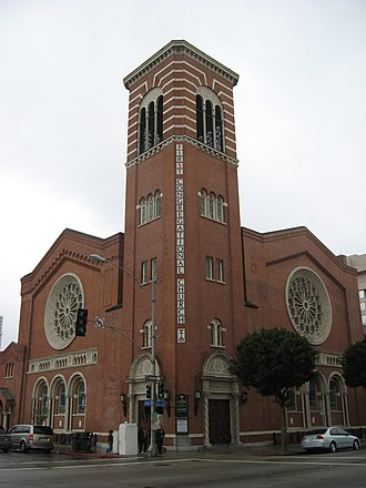 United Church of Christ - First Congregational Church of Long Beach, California.