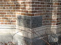 First Presbyterian NOLA Claiborne Jan 2010 Foundation Stone.JPG