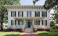 First White House of the Confederacy, Montgomery, North view 20160713 1.jpg
