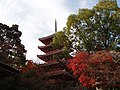 Five-Storied Pagoda of Tikurinji-Temple. - panoramio.jpg