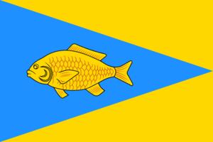 Ishim, Tyumen Oblast - Image: Flag of Ishim (Tyumen oblast)