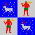 Flag of Norrbotten lan.png