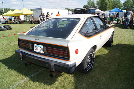 1979 AMX with standard striping - AMC Spirit