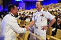 Flickr - Official U.S. Navy Imagery - Adm. Jonathan Greenert speaks with a naval flag officer..jpg