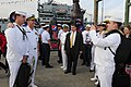 Flickr - Official U.S. Navy Imagery - The CNO stops to take a photo with a Sailor at the USO New York City Fleet Week block party..jpg