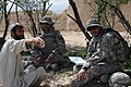 Flickr - The U.S. Army - Discussing life in Afghanistan.jpg
