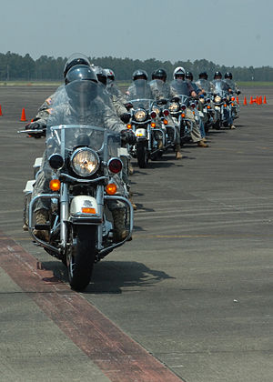 Participants in the Police Motorcycle Operator...