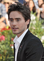 Photo of Jared Leto at the 66th Venice Film Festival in 2009.