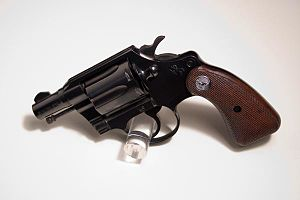 Colt Detective Special - A Colt Detective Special on display