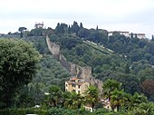Florence - Old stone wall near Piazzale Michelangelo.jpg