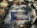 Florida Caverns SP statue plaque02.jpg