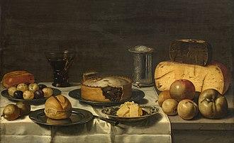 Floris van Schooten - Dutch breakfast