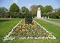 Flowerbed near the War Memorial, Chase Green, Enfield - geograph.org.uk - 1263070.jpg
