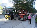 Fok lift and scissors lift in the public space near Metro Hall, 2015 09 23 (1).JPG - panoramio.jpg