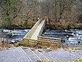 Footbridge over the River Carron - geograph.org.uk - 1768994.jpg