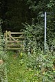 Footpath off A158 along the edge of Gunby Hall parkland (geograph 3610063).jpg