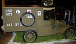 Ford Model T ambulance, National Museum of the US Air Force, Dayton, Ohio, USA. (44573402502).jpg