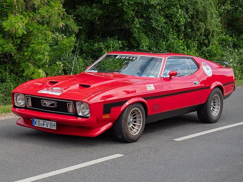 File:Ford Mustang Mach 1 V8 Sachs Franken Classic P5201066.jpg
