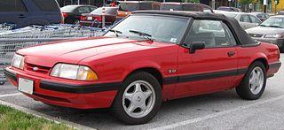 Ford Mustang (third generation) Motor vehicle