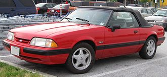 Ford Mustang (third generation) - Image: Ford Mustang convertible