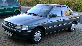 Ford Orion - Image: Ford Orion front 20071031