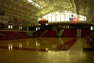 Rose Hill Gymnasium - Image: Fordham court 800