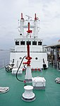Forecastle of JCG Fudo(PC-55) front view at Kobe Port Terminal June 1, 2013.jpg
