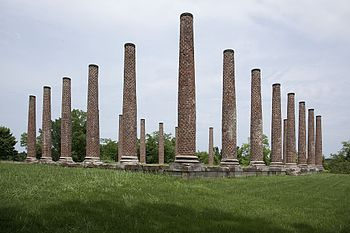 """Forks of Cypress"" ruins near Florence Forks of Cypress Ruins by Highsmith 02.jpg"