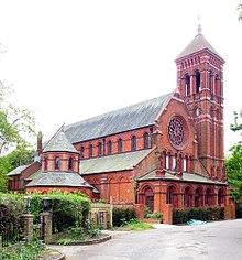 Former church of All Saints, Bute Avenue, Petersham (geograph 1787040).jpg