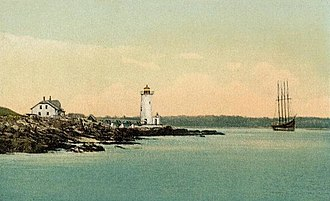 New Castle, New Hampshire - Image: Fort Point Light, New Castle, NH