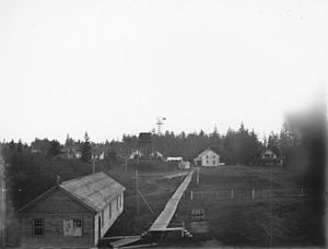 Fort Stevens (Oregon) - Image: Fort Stevens, Oregon, November 1900 (KIEHL 60)
