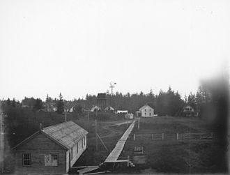 Fort Stevens (Oregon) - Image: Fort Stevens, Oregon, November 1900 (KIEHL 60)
