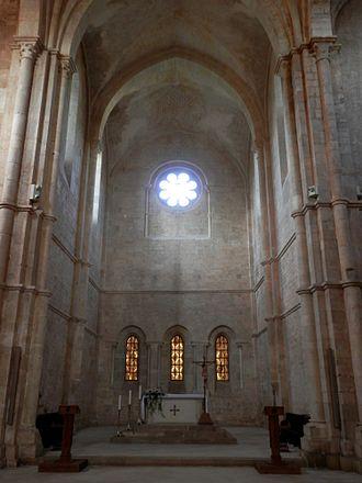 Fossanova Abbey - Image: Fossanova Abbey fc 02