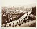 Fotografi, över Florens, 1800-tal - Hallwylska museet - 107386.tif