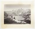 Fotografi av sjö och berg i Schweiz - Hallwylska museet - 103170.tif